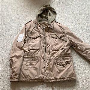 Ralph lauren winter coat. Denim and supply